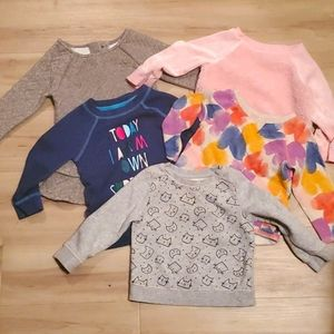 🏷3 for $10 Girls Cat & Jack Sweaters 18 months